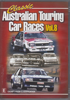 Classic Australian Touring Car Races Vol.8 DVD (9340601000544)