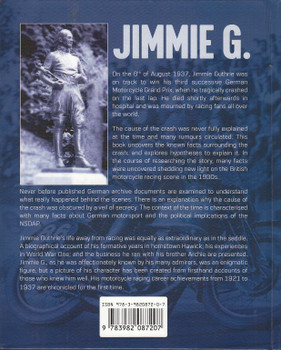 Jimmie G. The Extraordinary Life and Tragic Death of Scottish Motorcycle Racing Champion (9783982087207)