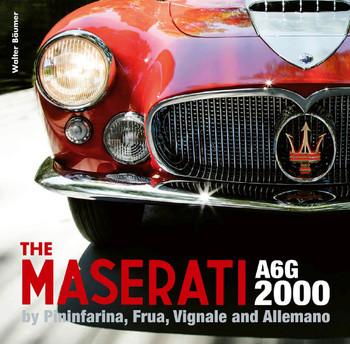 Maserati A6G 2000 - Pininfarina, Frua, Vignale, and Allemano (Valter Baumer) (9781854433145)
