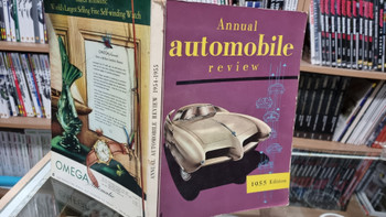 Annual Automobile Review 1954 - 1955 (paperback)