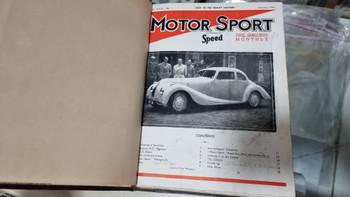 Motor Sport January - December 1947 (Bound)
