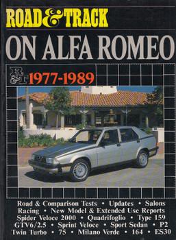 Alfa Romeo Road Test Book - Road & Track on Alfa Romeo 1977-89 (Brooklands Road Tests) (9781870642897)
