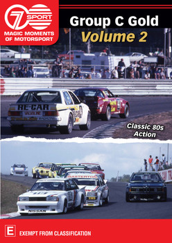Group C Gold Volume 2 - Classic 80s Action DVD (9340601002906)