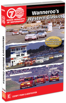 Wanneroo's Western Classics - Action from Western Australia's home of racing DVD (9340601002944)