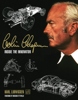 Colin Chapman - Inside The Innovator (Karl Ludvigsen, 2021 reprint) (9781910505649)
