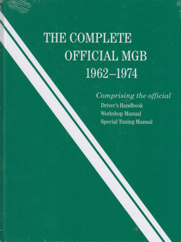 The Complete Official MGB Workshop Manual (9780837617619)