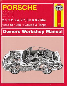 Porsche 911 1965-1985 Service & Repair Manual (9780857336064)