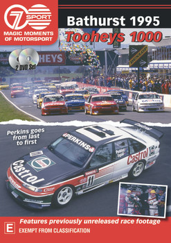 Bathurst 1995 Tooheys 1000 - Perkins goes from last to first DVD (9340601002951)