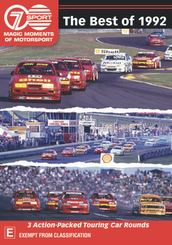 The Best Of 1992 - 3 Action-Packed Touring Car Rounds DVD