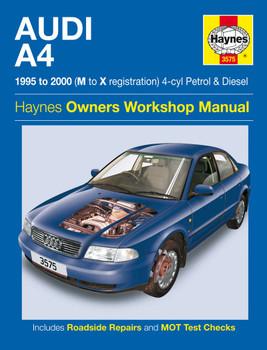 Haynes Manual 4884 Audi A3 1.9 2.0 TDi 1.6 2.0 Turbo 2003-2008