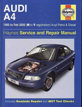 AUDI A4 1995 - 2000 Workshop Manual