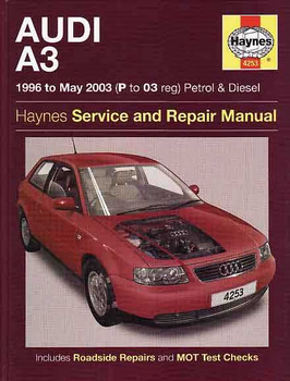 Audi A3 1996 to 2003 Petrol and Diesel Workshop Manual