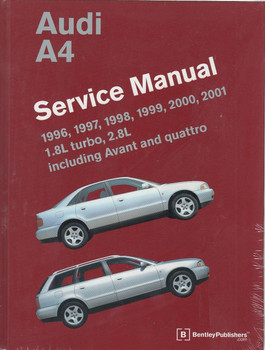 Audi A4 1996 - 2001 Workshop Manual