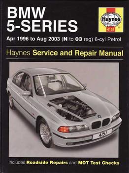 BMW 5-Series E39 Petrol 1996 - 2003 Workshop Manual