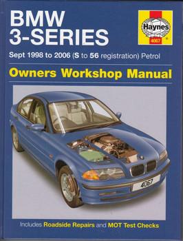 BMW 3-Series Petrol E46 1998 - 2006 Workshop Manual