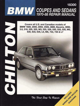 BMW Coupes and Sedans 1970 - 1988 Workshop Manual