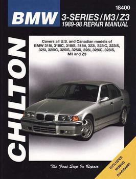 BMW 3-Series E36, M3, Z3 1989 - 1998 Workshop Manual