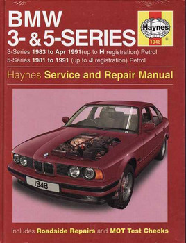 BMW 3 Series (E30) and 5 Series 1983 - 1991 Workshop Manual