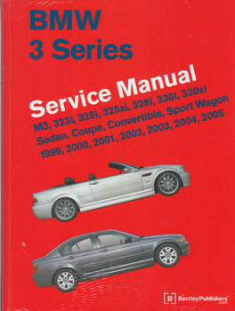 BMW 3 Series E46 1999 - 2005 Workshop Manual (9780837616575)  - front