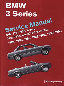 BMW 3 Series E30 1984 - 1990 Workshop Manual