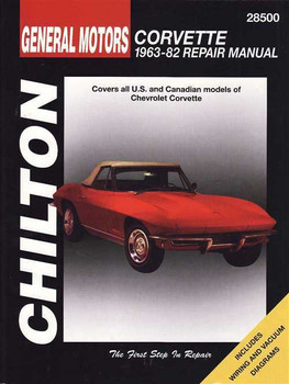 Corvette 1963 - 1982 Workshop Manual