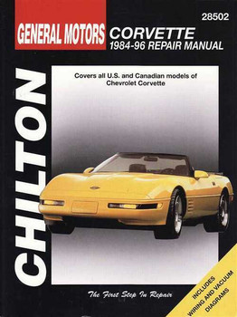 Corvette 1984 - 1996 Workshop Manual