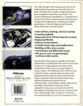 Camaro Performance Handbook