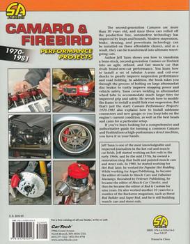 Camaro & Firebird 1970-1981 Performance Projects Back