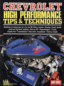 Chevrolet High Performance Tips & Techniques