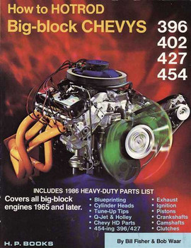How to Hotrod Big-block Chevys 396, 402, 427, 454