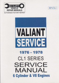 Chrysler CL Series 1976 - 1978 Workshop Manual