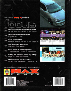 Ford Focus The Definitive Guide To Modifying