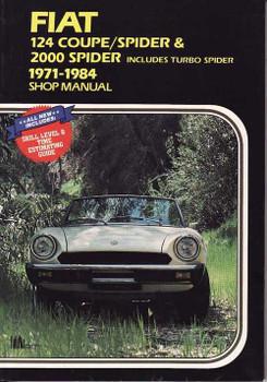 Fiat 124 Coupe Spider & 2000 Spider 1971 - 1984 Workshop Manual