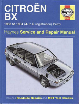 Citroen BX 1983 - 1994 Petrol Workshop Manual