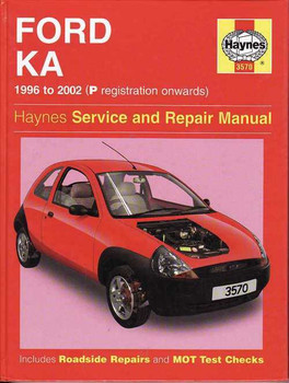 Ford KA 1996 - 2002 Workshop Manual