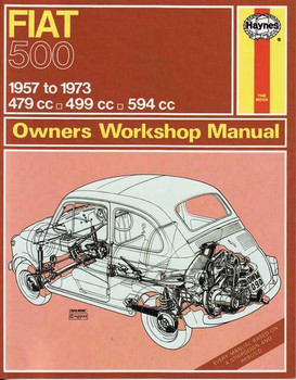 Fiat 500 1957 - 1973 Workshop Manual