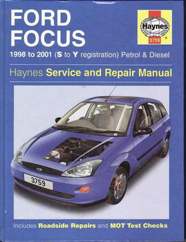 Ford Focus 1998 - 2001 Workshop Manual