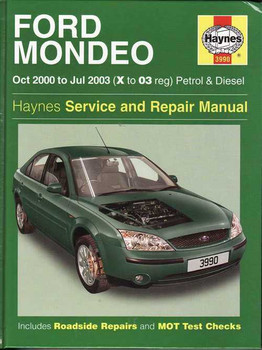 Ford Mondeo 2000 - 2003 Workshop Manual