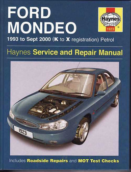 Ford Mondeo 1993 - 2000 Workshop Manual