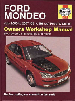 Ford Mondeo 2003 - 2007 Workshop Manual