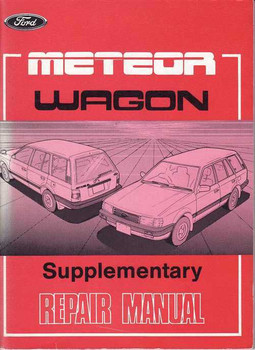 Ford Meteor Wagon Supplementary Workshop Manual