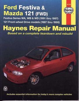 Ford Festiva WA, WB, WD & Mazda 121 1987 - 1997 Workshop Manual