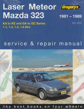 Ford Laser, Ford Meteor and Mazda 323 KA to KE / GA to GC Series 1981 - 1989 Workshop Maual (9781563928246) - front