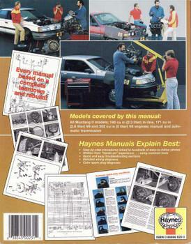 Ford Mustang II 1974 - 1978 Workshop Manual