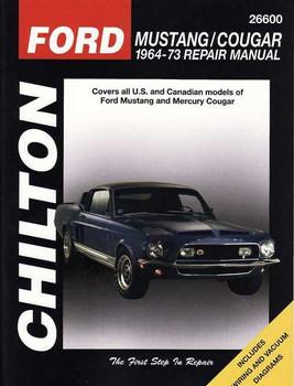 Ford Mustang | Cougar 1964 - 1973 Workshop Manual