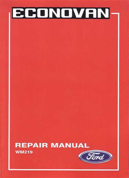 Ford Australia Workshop Manuals