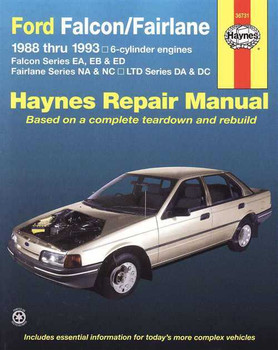 Ford Falcon, Fairlane 1988 - 1993 Workshop Manual