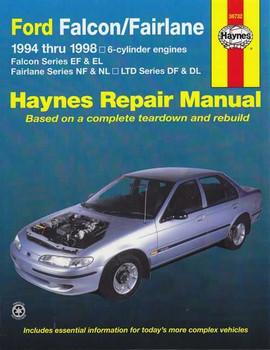 Ford Falcon EF EL, Fairlane NF NL, LTD DF DL 1994 - 1998 Workshop Manual