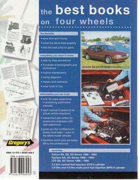 Ford Falcon Fairlane LTD, EA, EB, ED, NA, NC, DA, DC 1988 - 1995 Workshop Manual Back