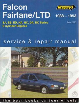 Ford Falcon Fairlane LTD, EA, EB, ED, NA, NC, DA, DC 1988 - 1995 Workshop Manual